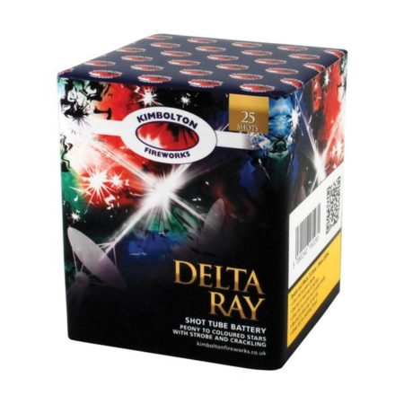 Delta Ray Cake Firework