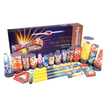 Gold Firework Selection Box