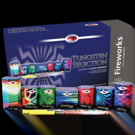 Tungsten Firework Selection Box