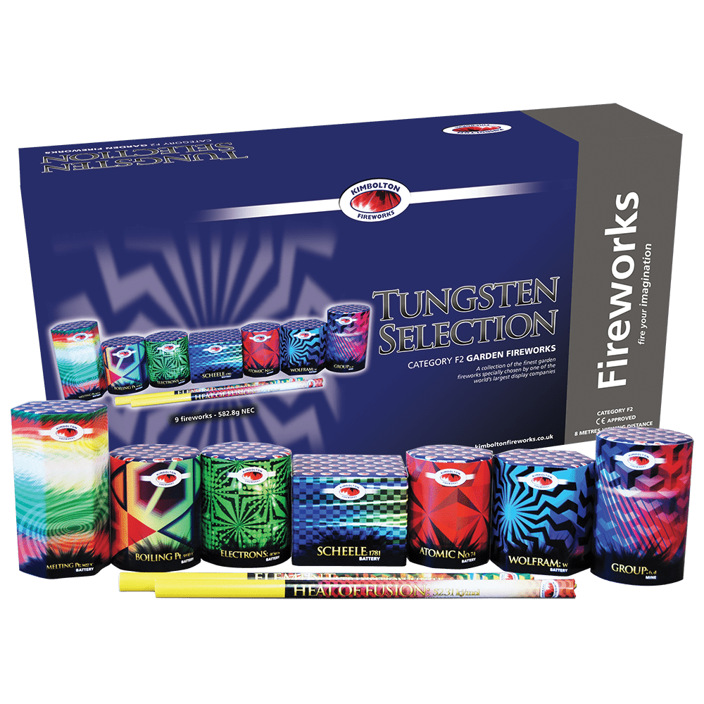 Tungsten Firework Selection Box