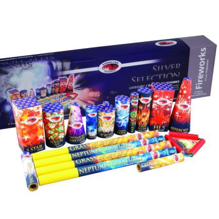 Silver Firework Selection Box