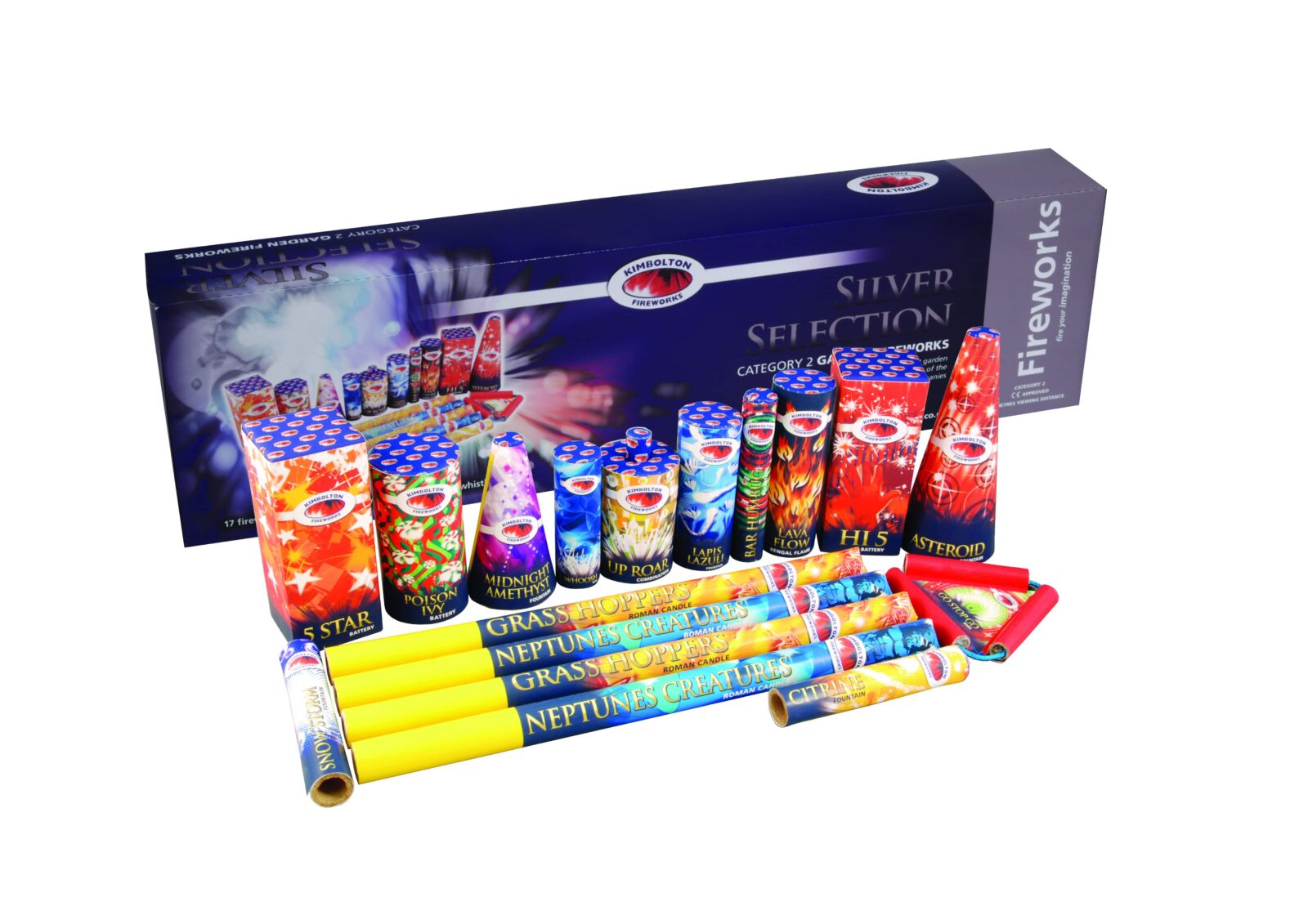 Silver Firework Selection Box