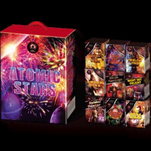 Atomic Stars firework cake pack