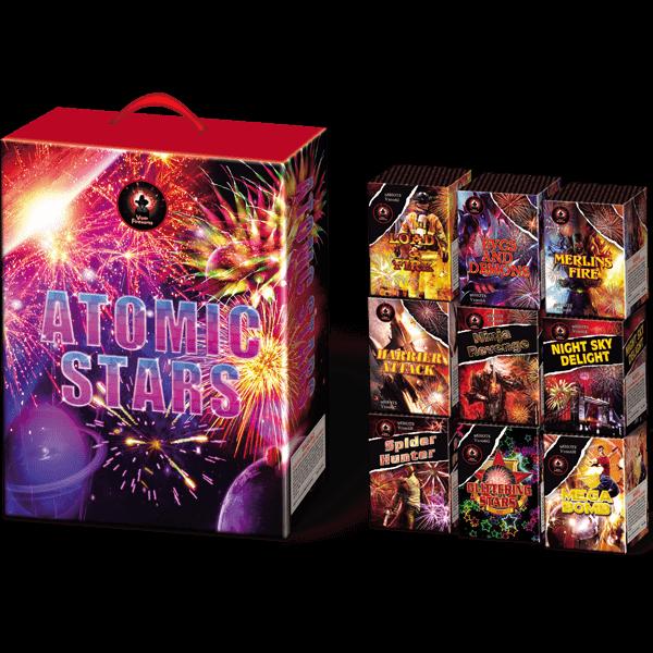 Atomic Stars Cake Firework Pack