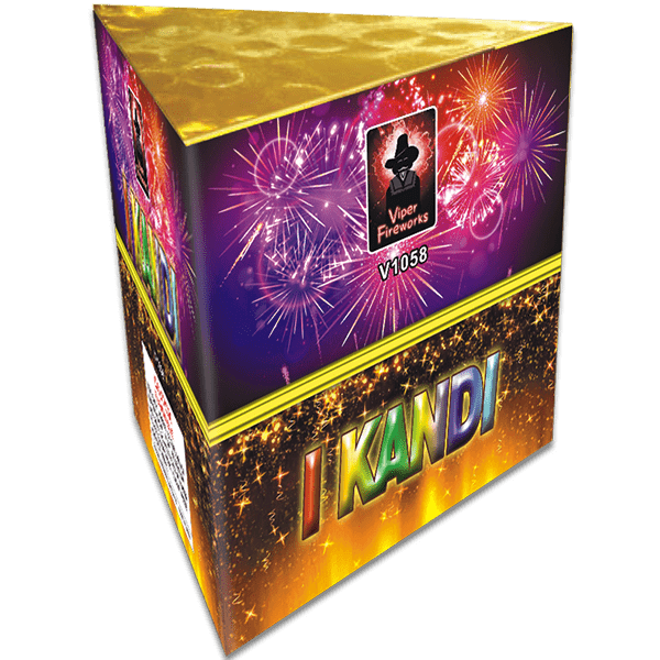 I Kandi Fountain Barrage Firework