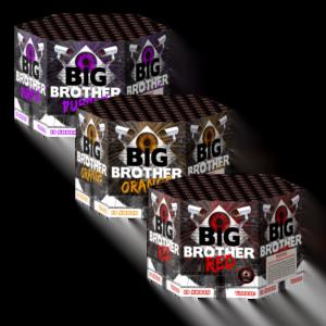 Big brother firework cake