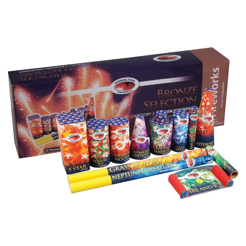 Bronze Firework Selection Box