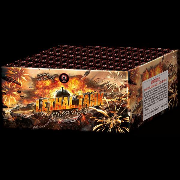 Lethal Tank Cake Firework