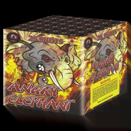 Angry Elephants Cake Firework