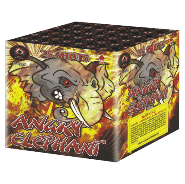 Angry Elephant Cake Barrage Firework