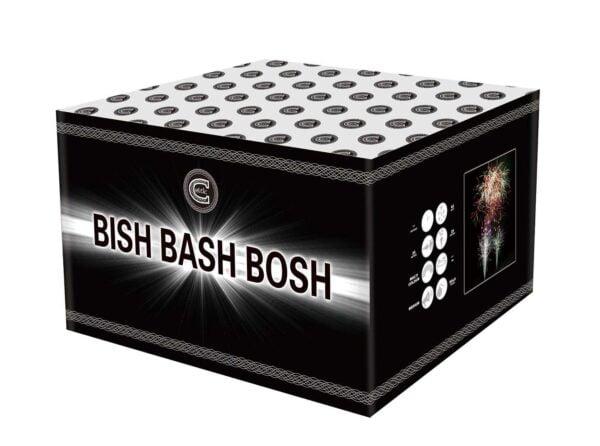 Bish Bash Bosh Cake Firework