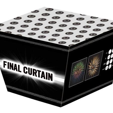 Final Curtain Cake Firework