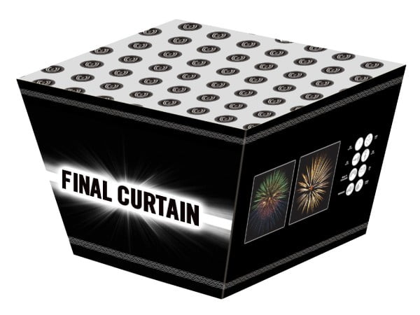 Final Curtain Cake Firework