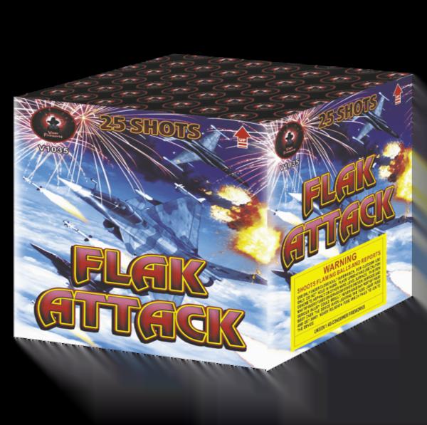Flak Attack Barrage Cake Firework
