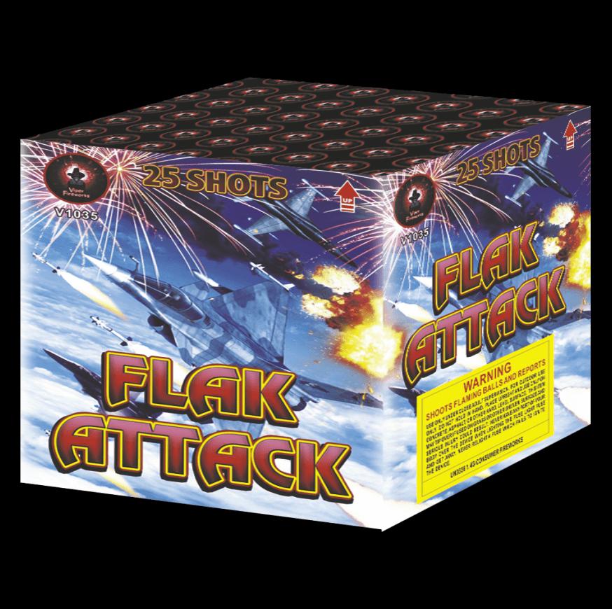 Flak Attack Cake Firework