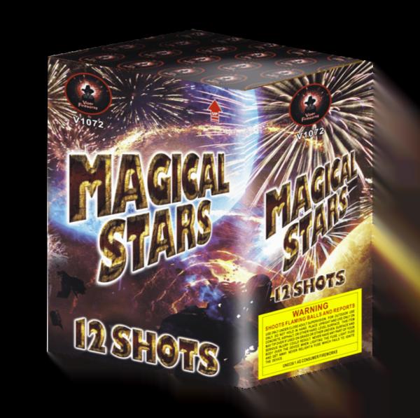Magical Stars Barrage Cake Firework