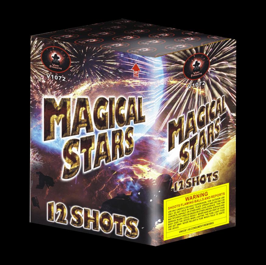 Magical Stars Cake Firework