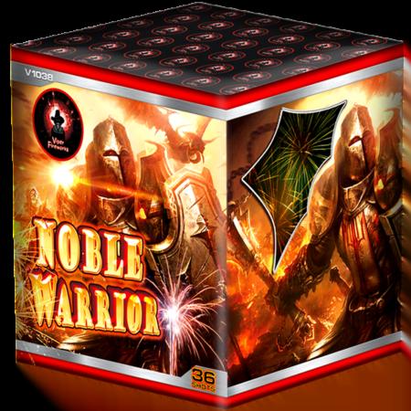 Noble Warrior Cake Firework