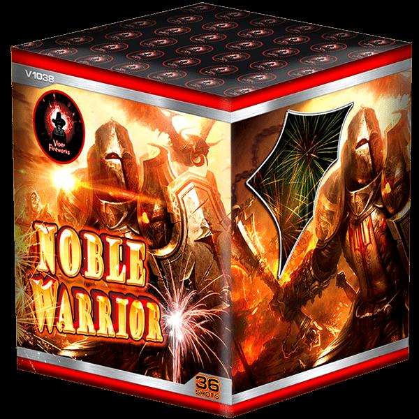 Noble Warrior Cake Barrage Firework