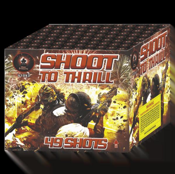 Shoot To Thrill Cake Barrage Firework