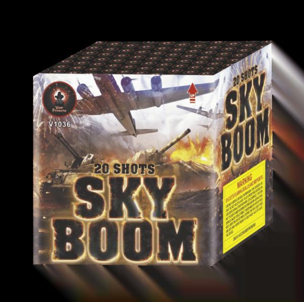 Skyboom Barrage Cake Firework