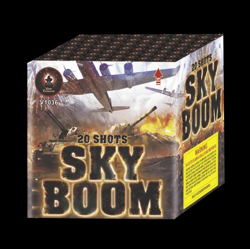 Skyboom Cake Firework