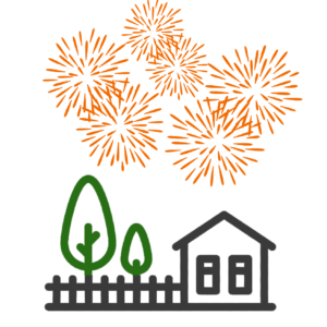 Garden Fireworks