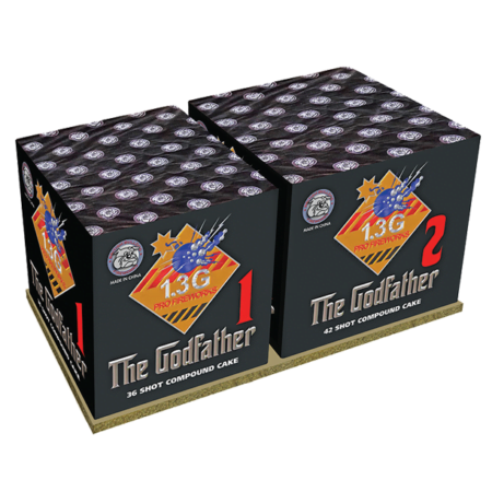 The Godfather Firework Pack of 2 Cakes
