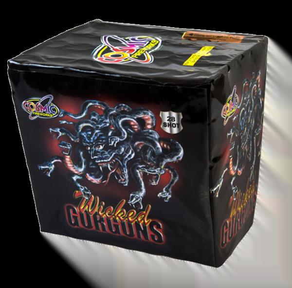 Wicked Gorgons Cake Firework