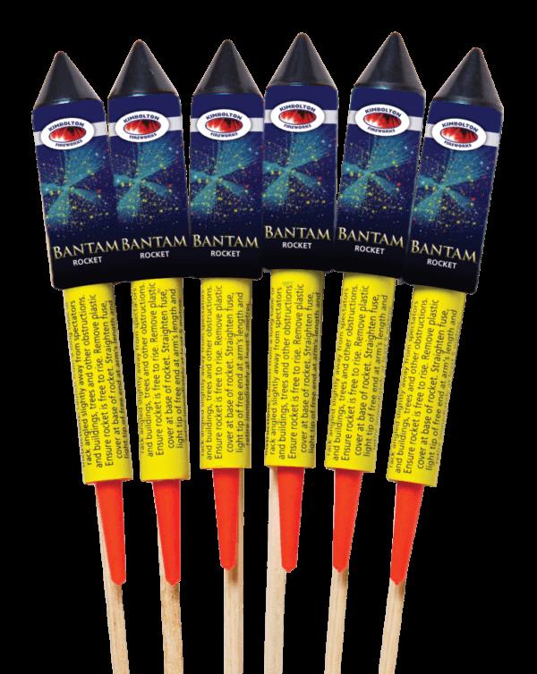 Bantam Firework Rocket Pack