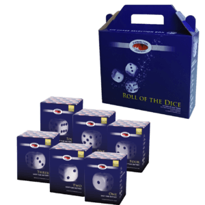 Roll of the Dice cake firework pack